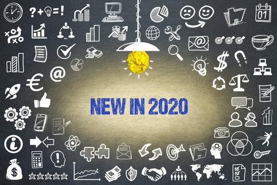 New in 2020