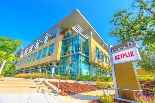 Netflix Logo California