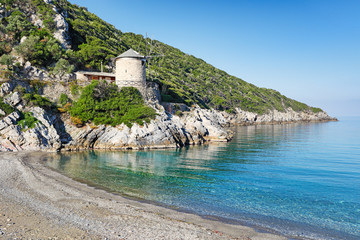 The beach Gialia of Alonissos, Greece