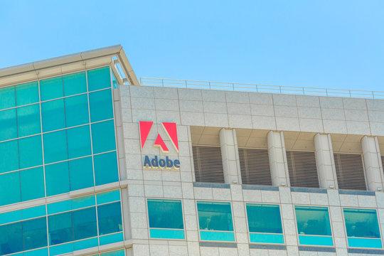 Adobe skyscraper top