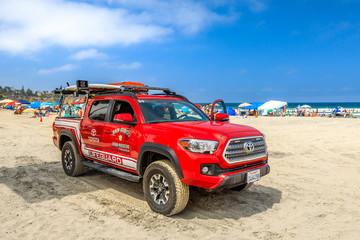 San Diego Beach fire-rescue