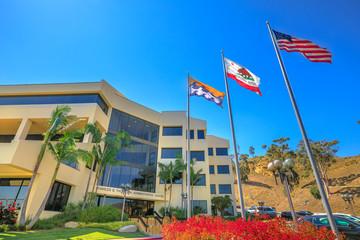 Malibu University Direction Building