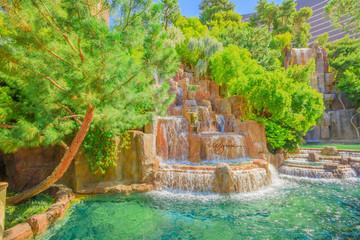Wynn waterfall Las Vegas