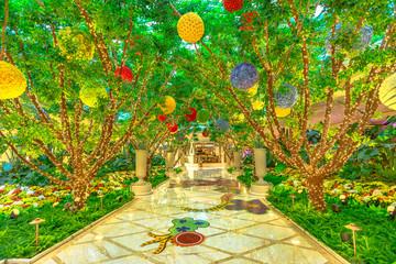 Wynn indoor garden