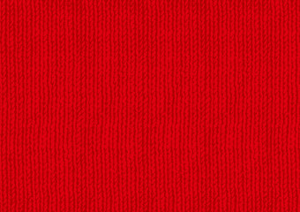 色も変えやすい赤い毛糸の(パス)ベクターデータ Fototapete