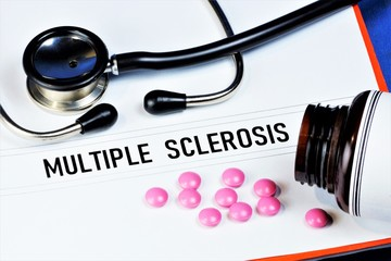 Multiple sclerosis is a chronic autoimmune disease that affects the myelin sheath of nerve fibers of the brain and spinal cord. Diagnosis neurological tests. Treatment with medication.