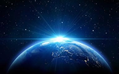 planet in space Fotomurales
