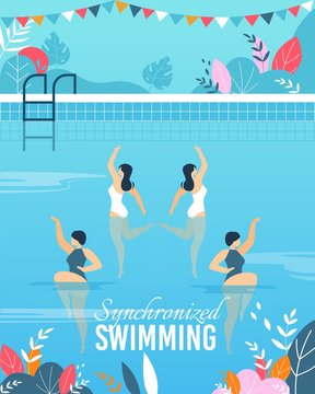 Flat a with Join Synchronized Swimming Performance