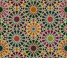 Islamic art seamless pattern