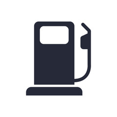 fuel station service flat icon
