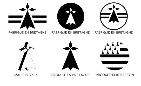 Fabriqué en Bretagne, Logo breton, breizh,