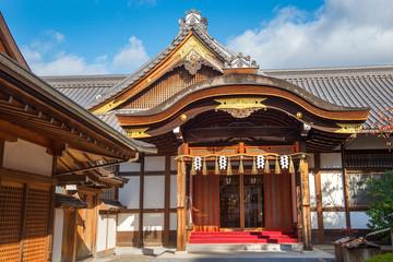 Wall Murals Place of worship Kiyomizu-dera, buddhist temple complex of Kyoto, Japan