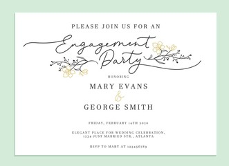 Engagement Invitations photos, royalty-free images, graphics ...