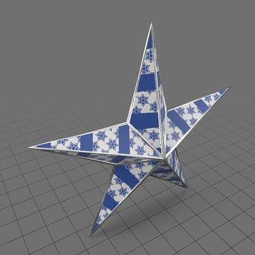 Christmas star ornament 3