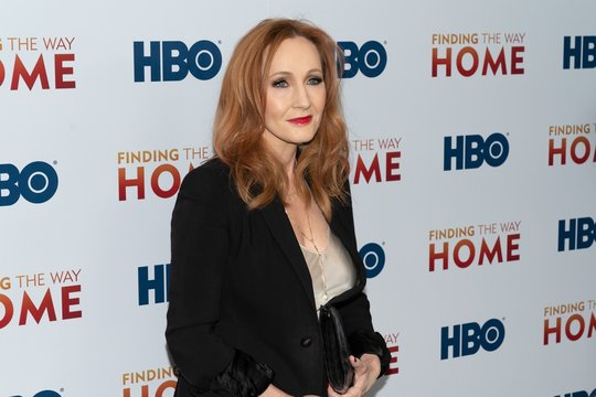 J.K. Rowling at arrivals for FINDING THE WAY HOME Premiere