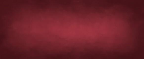Dark elegant red with soft lightand dark border, old vintage background website wall or paper illustration
