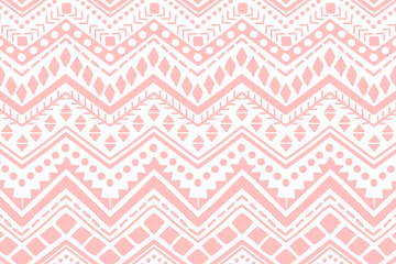 Stores à enrouleur Style Boho Ethnic pattern. Hand drawn background