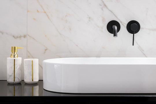 Elegant bathroom washbasin