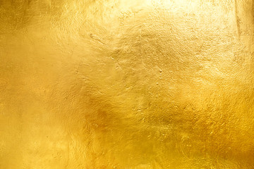 Gold shiny wall abstract background texture, Beatiful Luxury and Elegant Wall mural