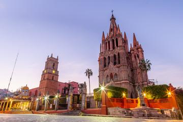 Photo sur Toile Europe Centrale San Miguel de Allende