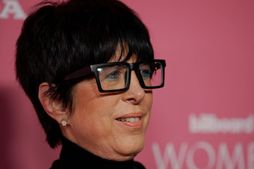 "Diane Warren arrives on the red carpet for the ""Billboard Women in Music"" event in Los Angeles"