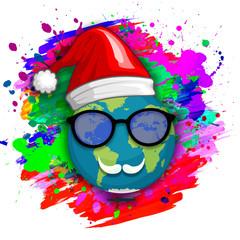 santa claus and world holiday christmas