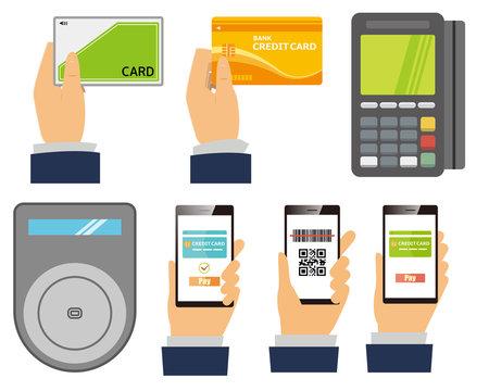 キャッシュレス スマホ スマホ決済 キャッシュレス決済 クレジットカード 電子決済