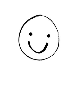 smilie smile drawing painting laughing face little hand drawing smiley