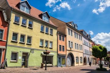 Wall Mural - naumburg, deutschland - idyllischer boulevard in der altstadt