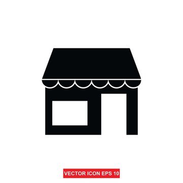 store icon. Shop building icon illustration isolated vector sign symbol