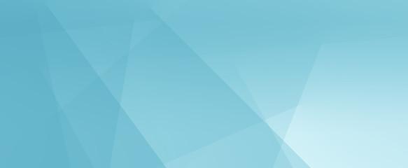 Sfondo banner azzurro colore turchese futuristico - fototapety na wymiar