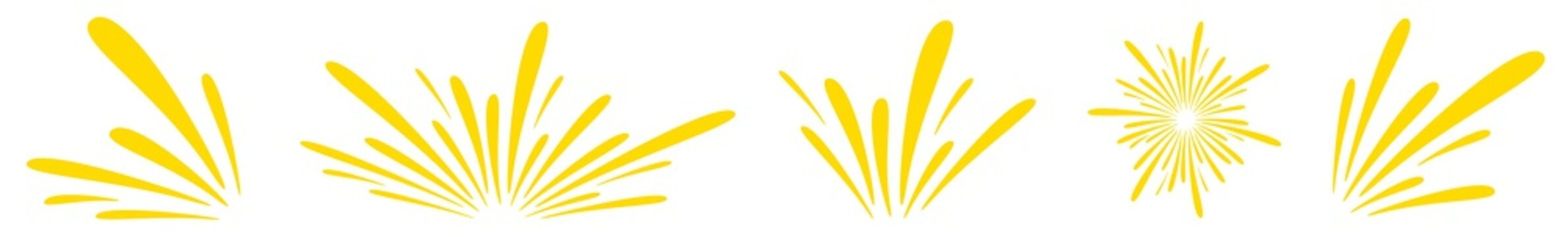 Splash Icon Yellow   Splashes   Droplets Symbol   Splashing Logo   Liquid Motion Sign   Isolated   Variations