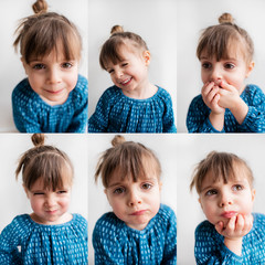 The emotional spectrum of a 3 year-old