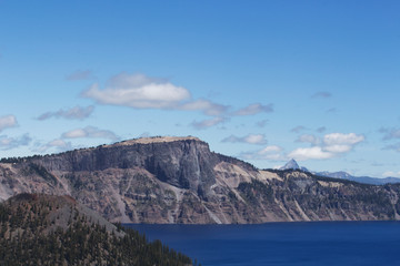 Crater Lake Scenic View