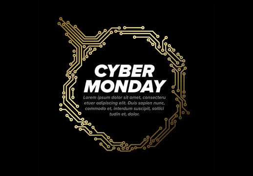 Cyber Monday Promotion Layout