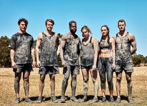 determined team