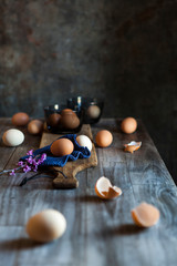 Eggs, food stock photography food styling