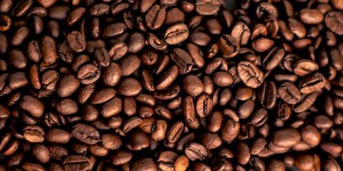 Poster de jardin Salle de cafe Coffee grains
