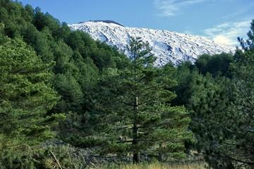 Wall Mural - Winter Etna Mount, Sicily