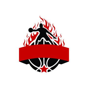 Sports logo mascot style - VECTOR