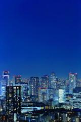 Poster Bangkok Urban area, Sky, Night
