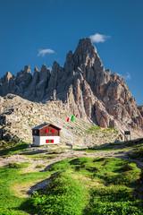 Wall Mural - Monte Paterno near Tre Cime di Lavaredo, Dolomites, Italy