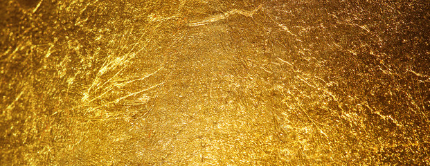 Fototapete - gold texture used as background