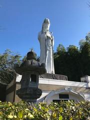 White Statue of the Goddess of Kannon