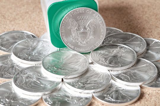 silver coins American Eagle