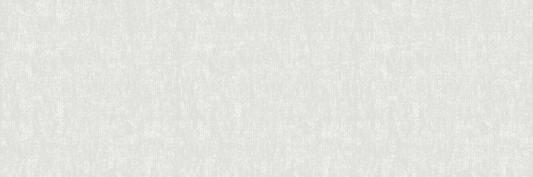Unbleached Vector Gray French Linen Texture Banner Background. Old Ecru Flax Fibre Seamless Border Pattern. Distressed Irregular Torn Weave Fabric . Neutral Ecru Jute Burlap Cloth Ribbon Trim. EPS10