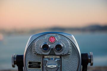 euro coin operated binoculars