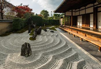 Obraz Zen garden in Japan - fototapety do salonu