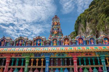 Foto auf Leinwand Kultstatte Batu caves temple Kuala Lumpur Malaysia