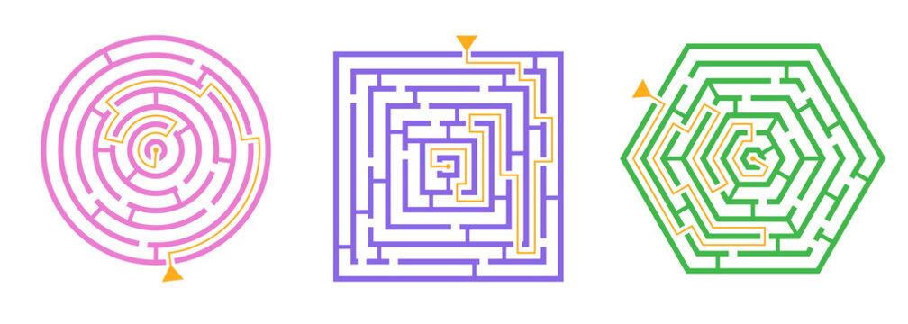 Labyrinth Game Set